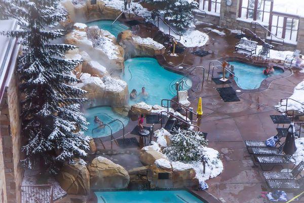 My winter wonderland getaway at the marriott mountainside for Fish pedicure utah